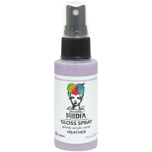 Ranger Dina Wakley Media Gloss Spray 2oz - Heather